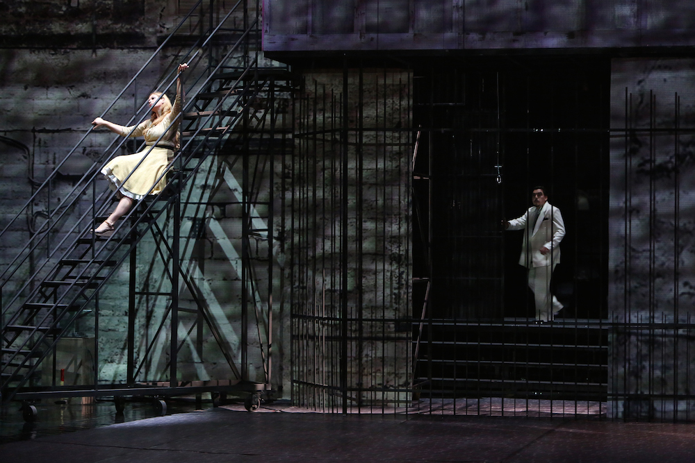 Gioielli della Madonna - 2. Akt, Natalia Ushakova als Maliella und Daniel Capkovic als Rafaele  (Foto: SND)