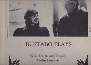 Violinkonzert - Guila Bustabo